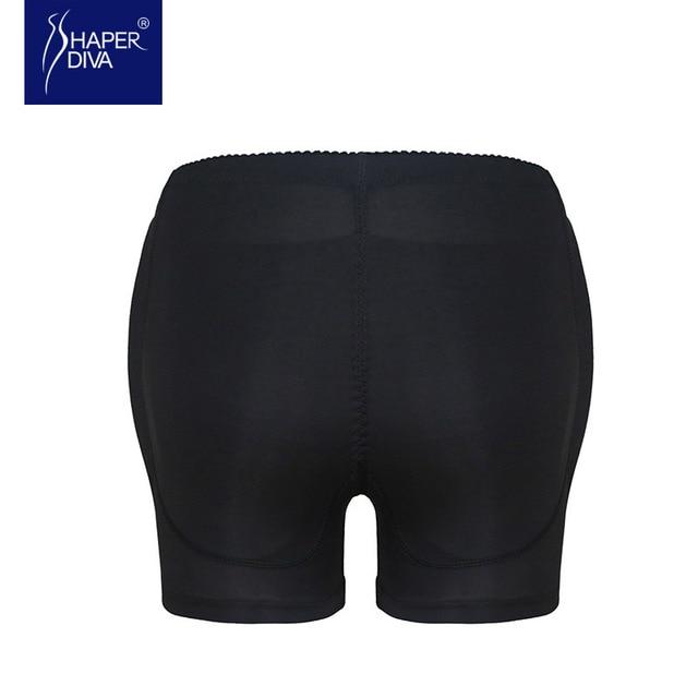 Mujeres shapers butt hip enhancer seamless underwear acolchado bodyshort bragas de control de la talladora shapewear pantalones nueva llegada