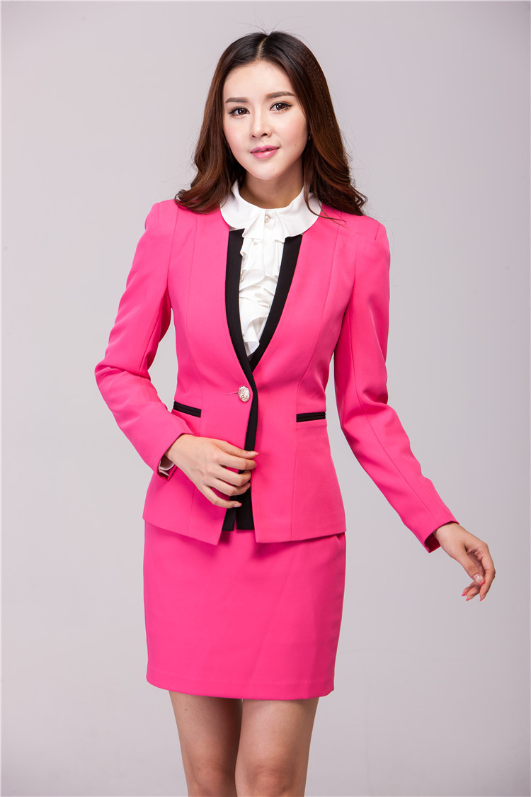 Aliexpress.com : Buy New Arrival 2015 Women Suits with Skirt and