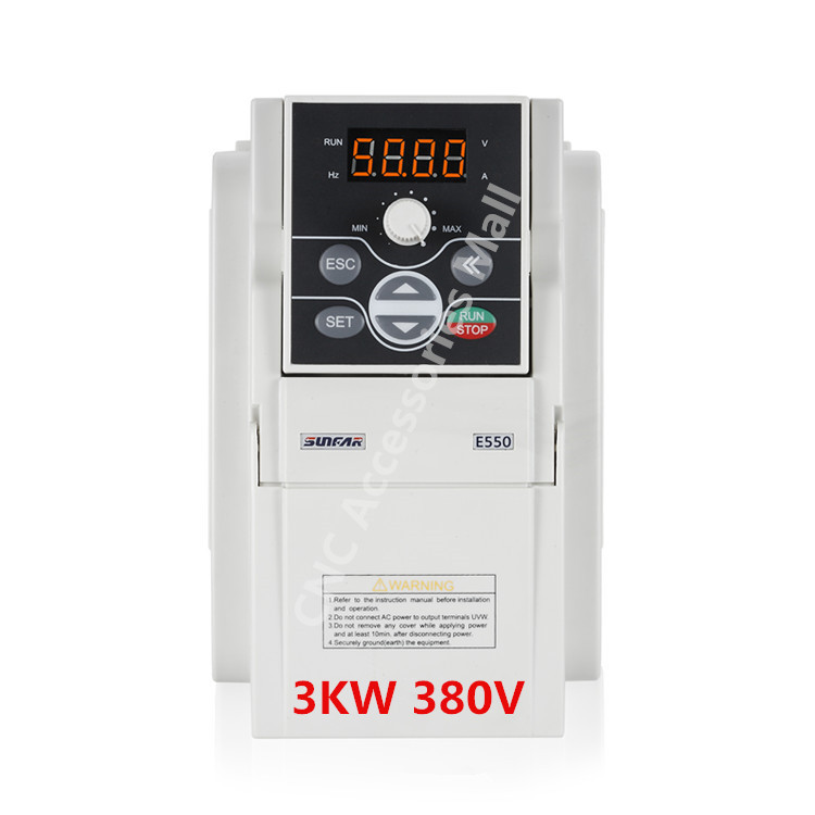 E550 cnc router frequency inverter 3kw AC380V VFD Inverter E550-4T0030L 1000HZ frequency inverter for spindle motor