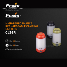 High performance Fenix CL26R Micro USB Rechargeable Camping Lantern with Free 18650 Li on Battery