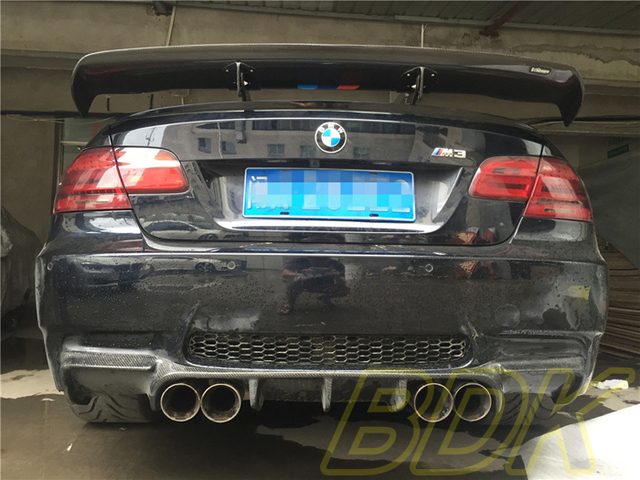 US $738 0 |E92 M3 GT Wing Varis Style 320i Carbon Trunk Spiler 323i Rear  Spoiler 325i Big Wing Case For BMW 328i 330i 335i 2011 2013 on  Aliexpress com
