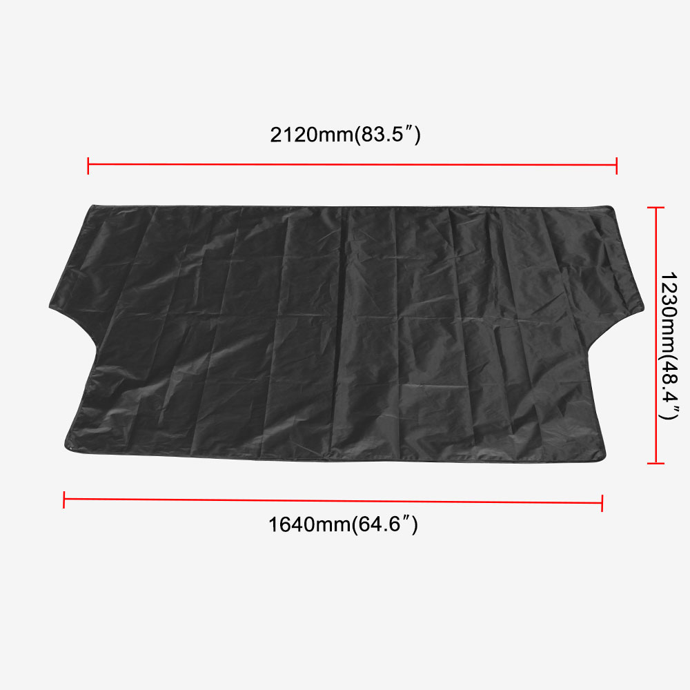 Image 1 - Car Sunshade With Magnet To Avoid Sunlight Rain Ice  Snow Protection Front Windshield With Storage Bag-in Windshield Sunshades from Automobiles & Motorcycles