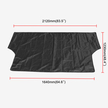 Car Sunshade With Magnet To Avoid Sunlight Rain Ice  Snow Protection Front Windshield Storage Bag