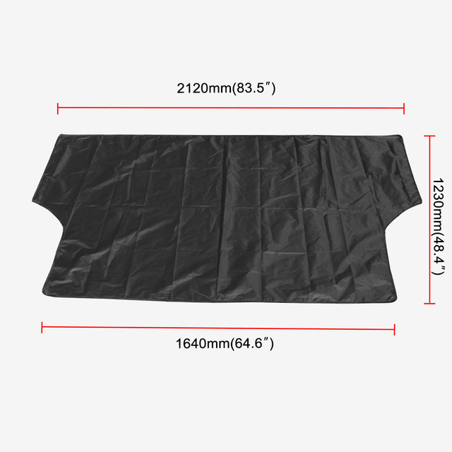 Car Sunshade With Magnet To Avoid Sunlight Rain Ice  Snow Protection Front Windshield With Storage Bag