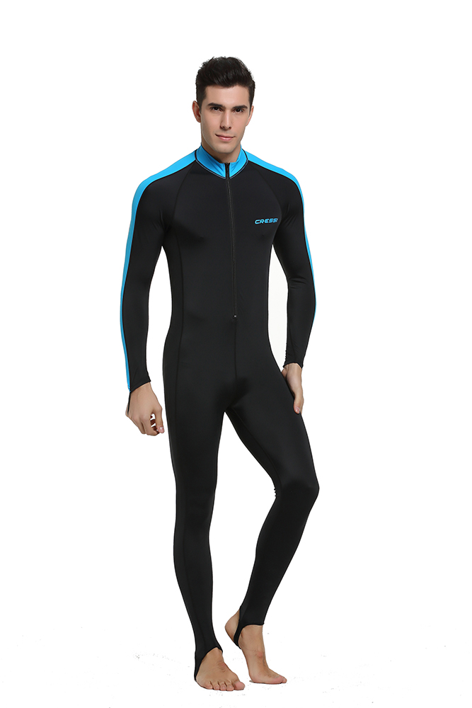 b074511987 Cressi Lycra All In One Rash Skin Suit Rash Guard Suit Wetsuits Snorkeling  Suit Anti Jellyfish Anti Scratch for Adults Men W-in Wetsuit from Sports ...