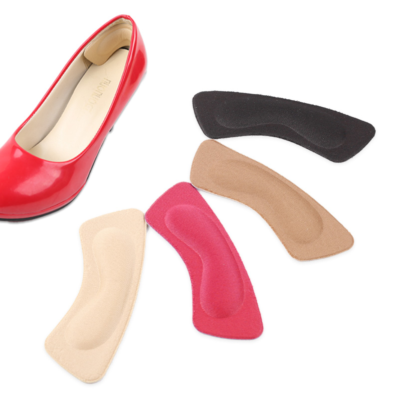 Women's Hair Accessories The Best 5pairs Soft Heel Protective Insoles Soft Fabric Pads Shoe Heel Protectors Hottest