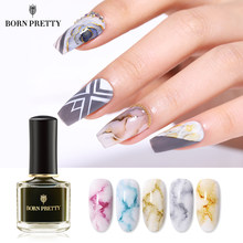 BORN PRETTY Blossom Nail Polish 6ml Multi Color Nail Art Design Blossom Manicure Lacquer Salon Beauty Nail Art Design(China)