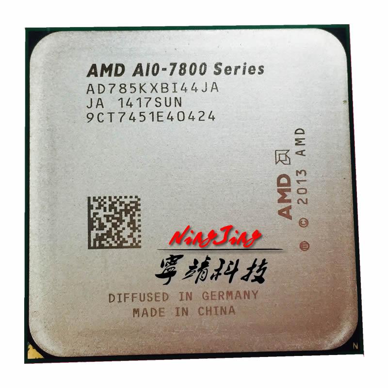 AMD A10-Series 7850 A10 7850K 3,7 ГГц четырехъядерный процессор AD785KXBI44JA / AD785BXBI44JA разъем FM2 +