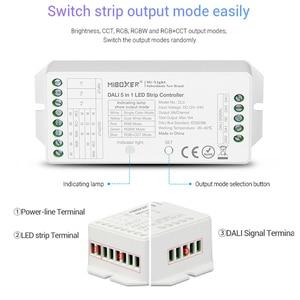 Image 3 - MiBOXER DL5 DALI 5 IN 1 LED di Controllo della Striscia, DC 12 ~ 24V Collegamento anodo Comune, telecomando compatibile/DALI Bus Potenza Supplly