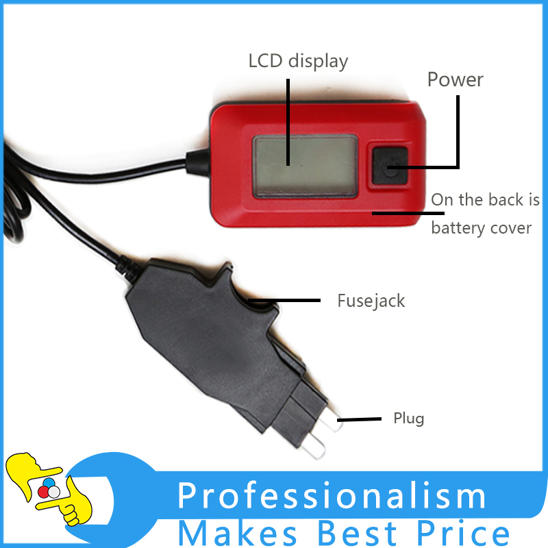 AE150 Car Auto Current Tester By Fuse Diagnostic Tool 12V 23A