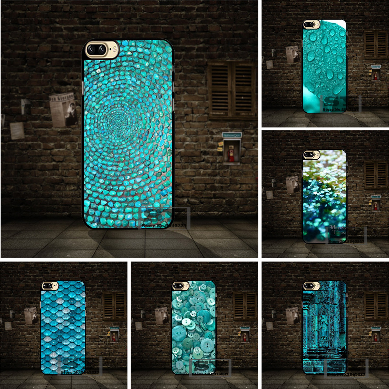 light turquoise sparkling scales cell phone case cover for. Black Bedroom Furniture Sets. Home Design Ideas