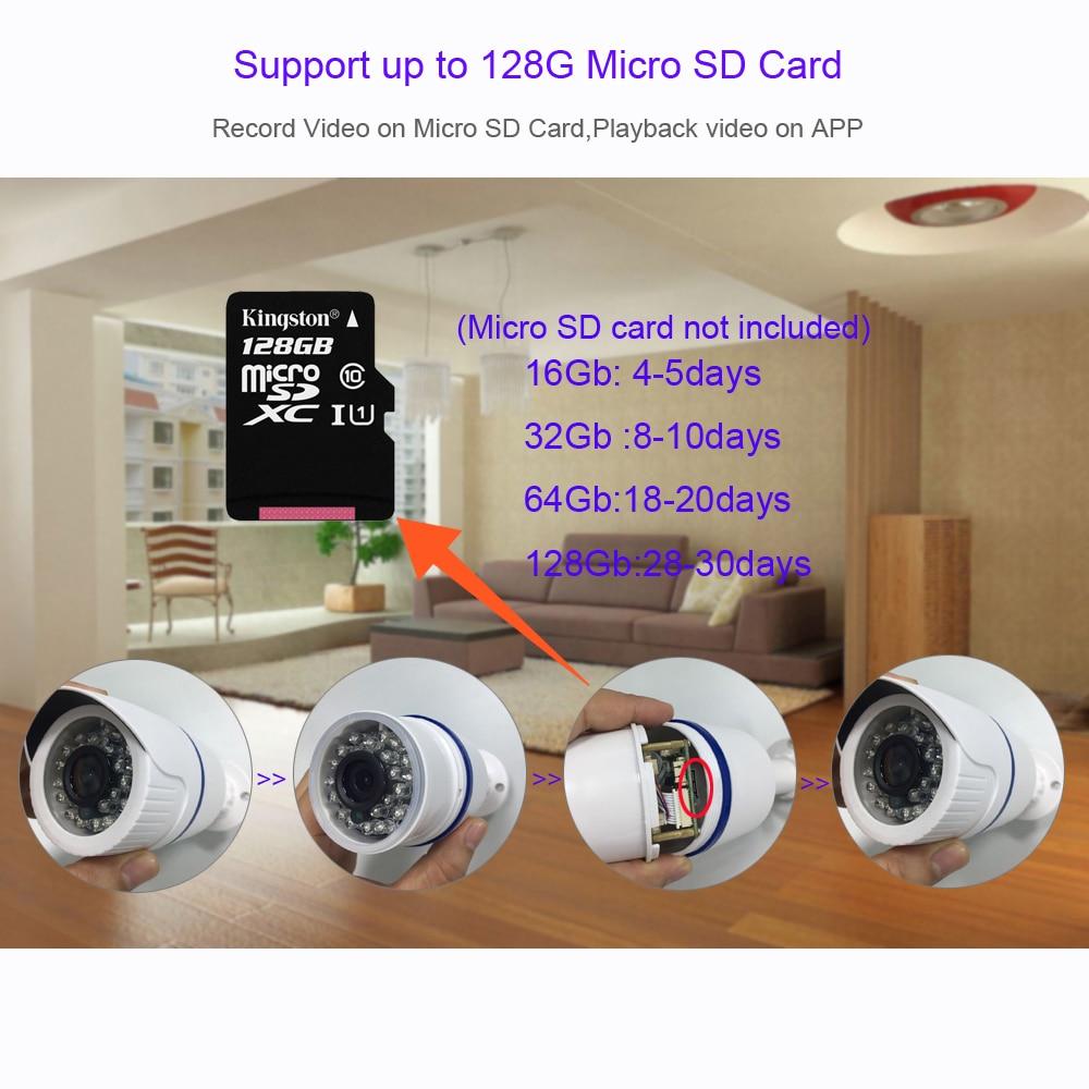 GADINAN Yoosee 720P 1080P 2 0MP WIFI IP Camera Bullet Network Wireless  Onvif Night Vision Motion Detection SD Card Slot Max 128G