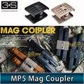 Airsoft MP5 Mag муфта зажим держатель двойной журнал быстрая Перезагрузка для MP5 аксессуары