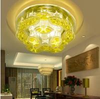 5W Adjustable Color LED Crystal Aisle Entrance Hall Corridor Ceiling Balcony Window Background Wall Lamp Ceiling