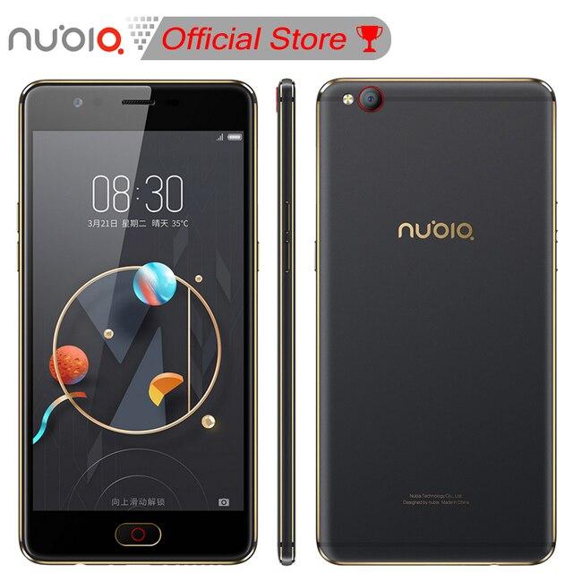 Nubia М2 5.5 дюймов Мобильный Телефон Snapdragon 625 Окта основные 4 ГБ RAM 64 ГБ/128 ГБ 16.0MP Двойной задняя 4 Г LTE Отпечатков Пальцев 1920*1080 Пикселей