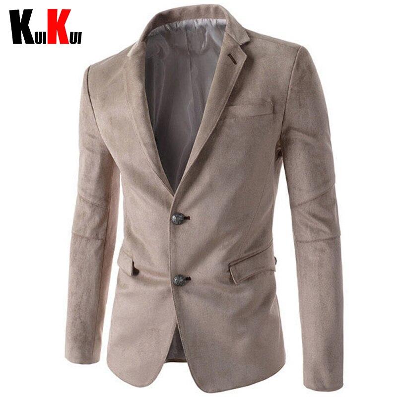 Blue Suede Blazer Jacket Promotion-Shop for Promotional Blue Suede ...
