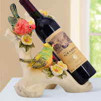 European style noble resin wine racks creative home accessories wedding Christmas gifts desktop Decoration