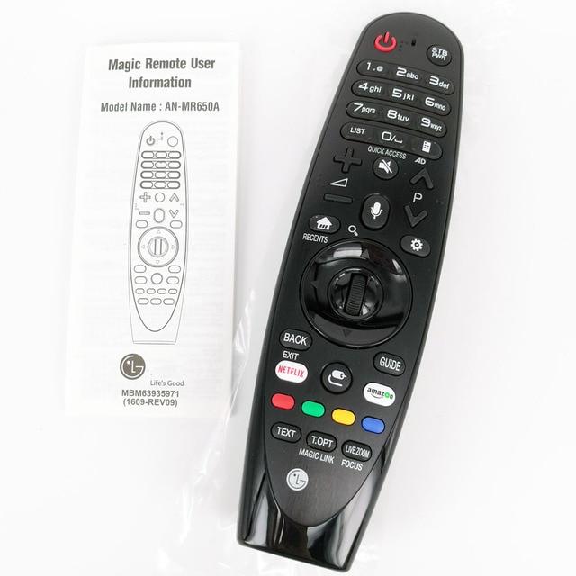 New Original An Mr650a For Lg Tv Magic Remote Smart Tv Voice Remote