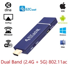 Worldwide  EZCast  4K*2K Wifi display dongle,HD 1080PHDMI Wireless TV Stick Mirroring Support iOS Android DLNA ,H.265 4K video
