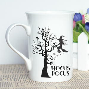 Image 4 - הוקוס פוקוס ליל כל הקדושים מכשפה נושאים מתנה חדש עצם סין ספל קפה קלאסי עם ייחודי עיצוב הטוב ביותר ליל כל הקדושים מתנת כוס