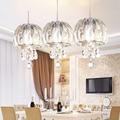 Бесплатная Подвесная лампа  современная модная люстра k9 с кристаллами для столовой  кухни  комнаты k9  роскошный светодиодный светильник  по...