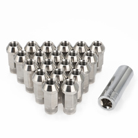 Car Modification 20PCS Stainless Steel Lug Nuts M12x1.25 M12x1.5 M14x1.5 M14x2 Wheel Nuts Bolts For Mazda KIA Lincoln Suzuki|Nuts & Bolts| |  -