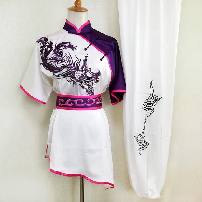 Chinese wushu uniform Kungfu clothing Martial arts suit taolu clothes changquan costume for women men girl