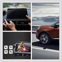 Per Peugeot 3008 GT 2016 2017 2018/5008 GT 2017 2018 Navigazione Temperato di Vetro Della Copertura Dello Schermo di Protezione Pellicola 1 PCS Accessori Auto