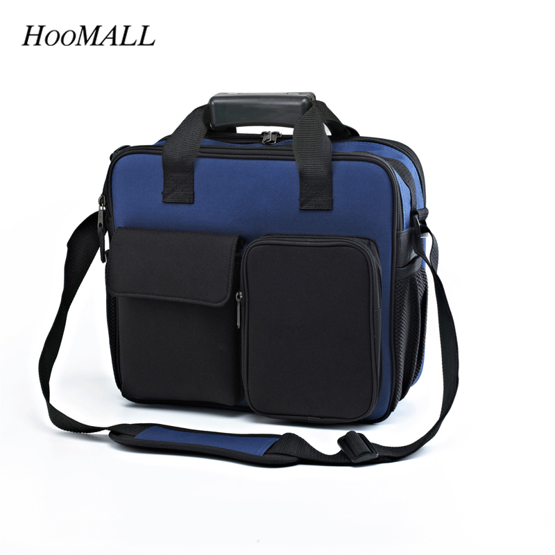 Hoomall Maintenance Package Power Pack Multi-Functional Electrical Package Shoulder Messenger Bag Electrician Tool Bag Tool Kit hoomall tool kit multi functional maintenance electrical shoulder bag large thick canvas oxford cloth tool bag