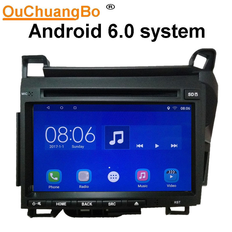 Ouchuangbo Android 6 0 Car Radio Recorder For Lexus CT200h 2011 2017 With GPS Wifi Bluetooth