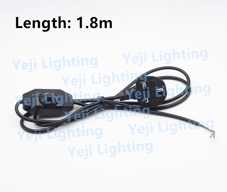 British standard uk cable wire with dimmer switch 3 pin plug cable british standard uk cable wire with dimmer switch 3 pin plug cable for table lamps floor lamps lighting accessories diy in wires cables from lights keyboard keysfo Image collections