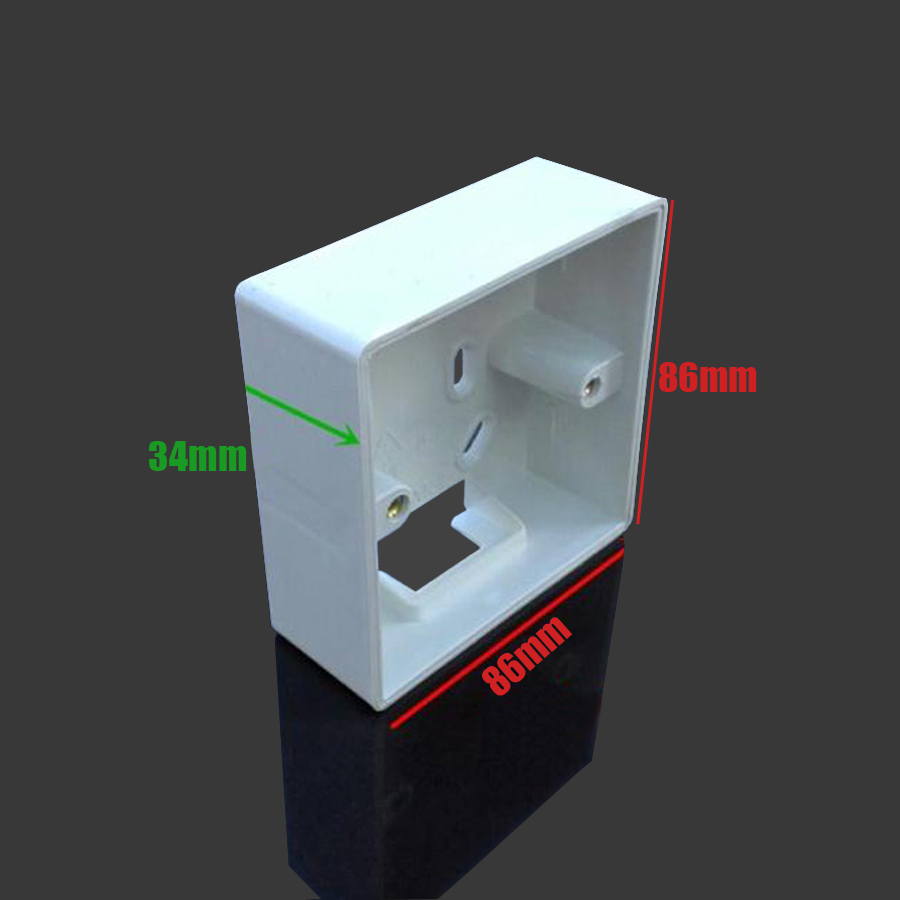 xintylink rj45 jack Face Plate Back Box rj11 faceplate rj12 wall ...