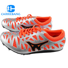 Сверхлегкие беговые кроссовки для мужчин с шипами, резиновые треки, дышащие спортивные кроссовки, спортивная обувь