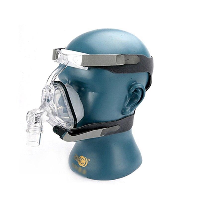 Plein Visage Masque Auto CPAP BiPAP Masque Avec Livraison Coiffures Blanc S M L pour L'apnée Du Sommeil Thérapie Portable Cpap machine MP0203