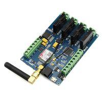 Elecrow Leonardo GPRS GSM IOT con sim800c relé Interruptores proyectos inalámbricos kit DIY tablero integrado tarjeta micro SIM
