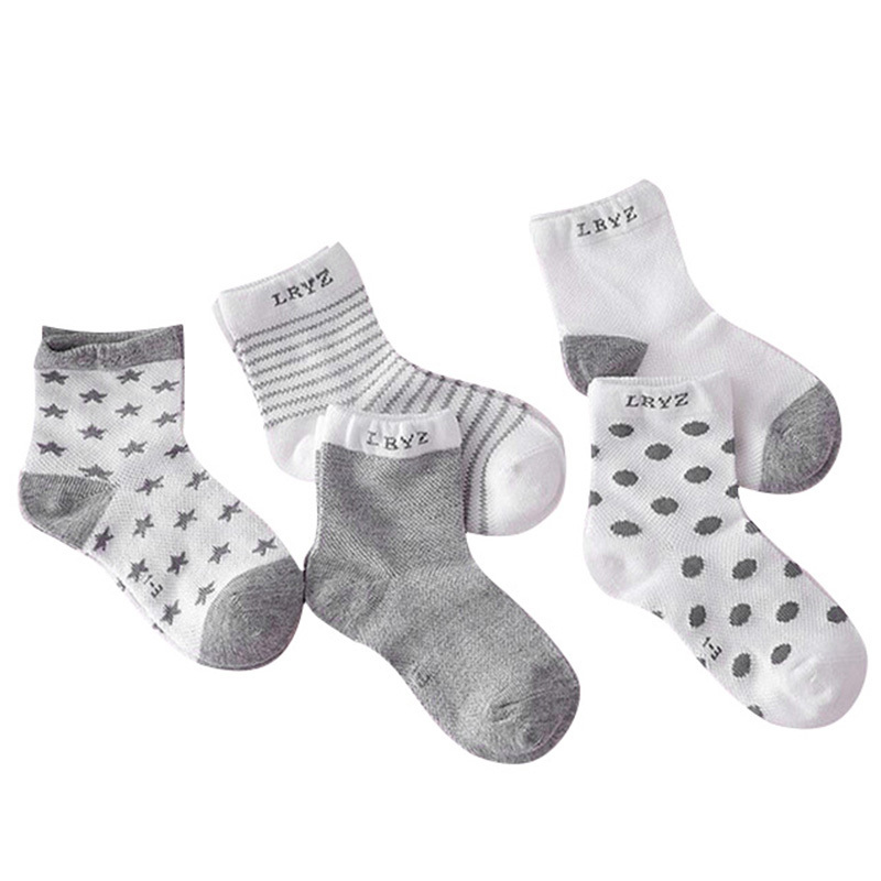 Autumn Winter Hot 5Pairs Baby Kids Cute Cartoon short Socks Infant Toddler Soft Cotton Comfortable Ankle Spring For 0-10Y