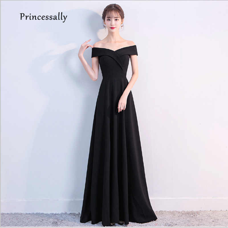 simple evening gown