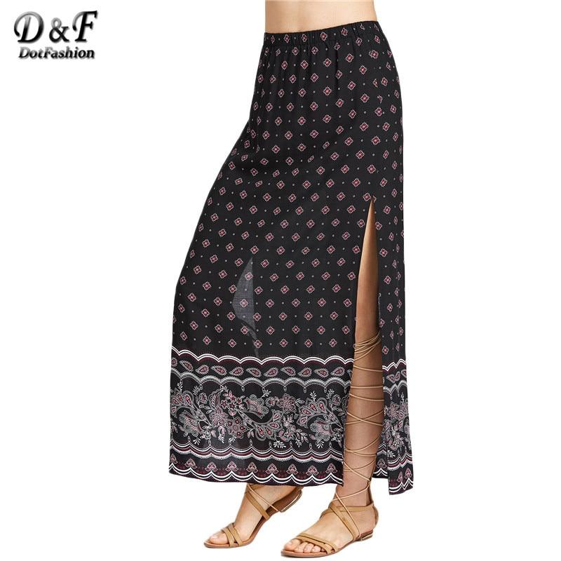 Online Get Cheap High Slit Maxi Skirt -Aliexpress.com | Alibaba Group