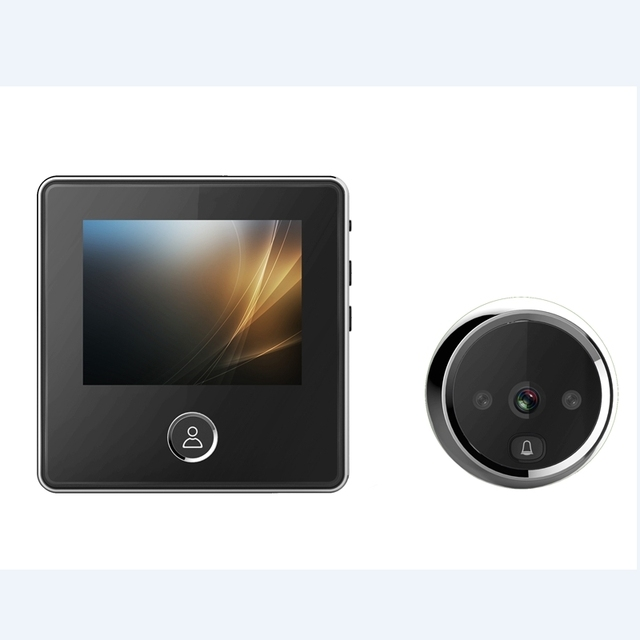Best Offers Digital Camera Peephole Viewer 3.0 inch LCD Screen Visual Monitor 1MP HD Build-in Lithium Battery Doorbell Photo Peephole Viewer