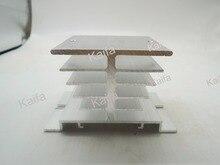 Рассеиваемая новые, ssr однофазный твердотельные радиатора радиатор реле подходит алюминиевый шт.