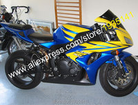 Hot Sales,For Honda CBR1000RR Fairing 06 07 CBR1000 1000RR 2006 2007 Yellow Blue Black ABS Body Fairing Set (Injection molding)