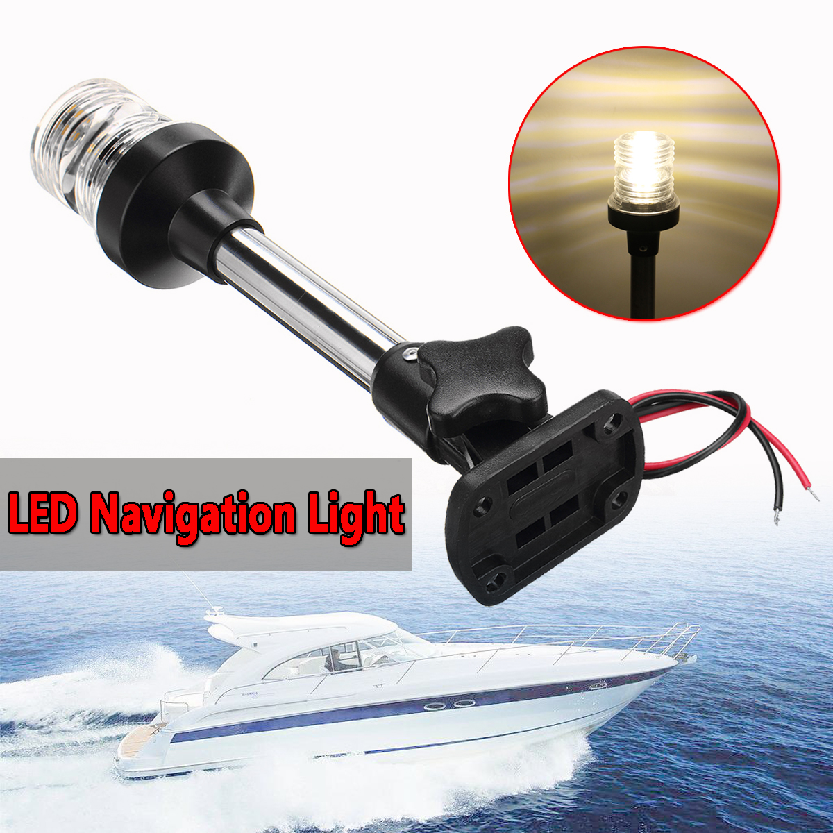 Official Website Beler Led Abs Light Electronic Navigation Compass Fit For Marine Boat Sail Ship Vehicle Car Confirming Navigation Directions Marine Hardware Automobiles & Motorcycles