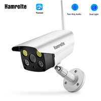 Hamrolte1080P/960P/720P Yoosee ONVIF Bullet Wifi Camera Outdoor IP Camera Support TF Max 128G Remote Access Motion Detection
