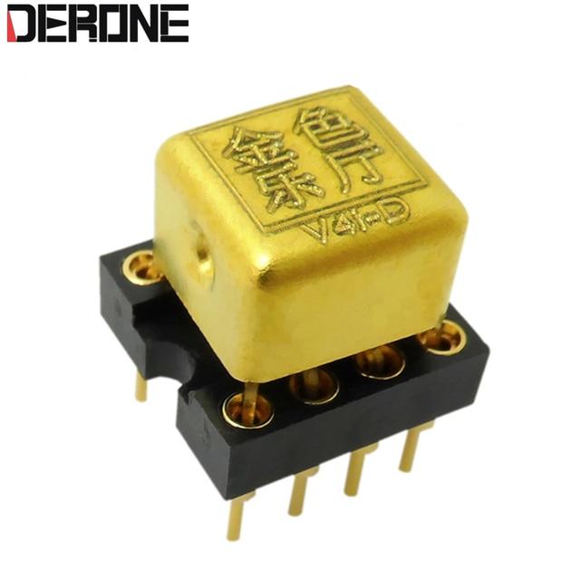 1 adet V4i D Çift Op Amp Yükseltme HDAM8888 9988SQ/883B MUSES02 01 8820 OPA2604AP için es9038 dac preamp ücretsiz kargo