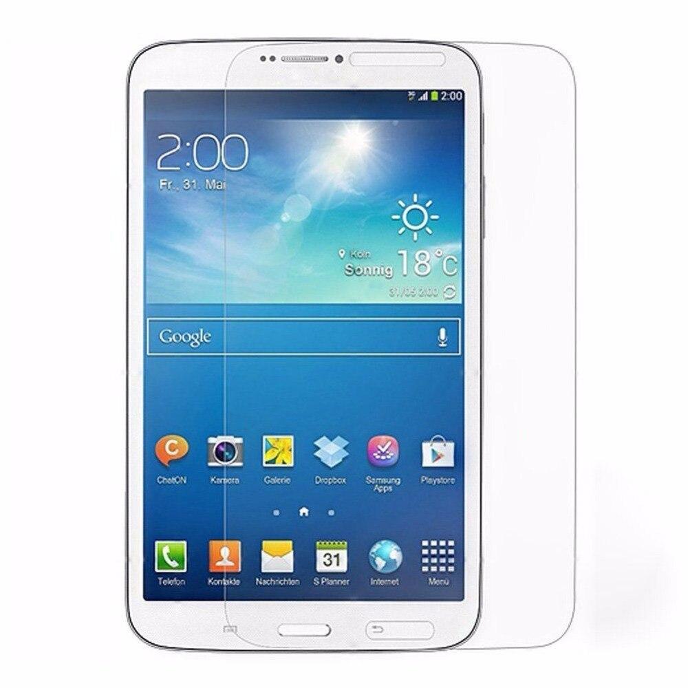 2 шт. Глянцевая Ясно Фольга Экран протектор Плёнки для Samsung Galaxy Tab 3 Tab3 8.0 T310 T311 + Экран чистке