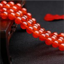 1strand/lot Round Natural Red Agate Stone Beads for Jewelry Making Loose Beads Bracelet DIY Material 2/3/4/5/6/8/10/12mm Z256 xinyao jewelry 40 4 6 810 12 14 diy f364 red agate beads