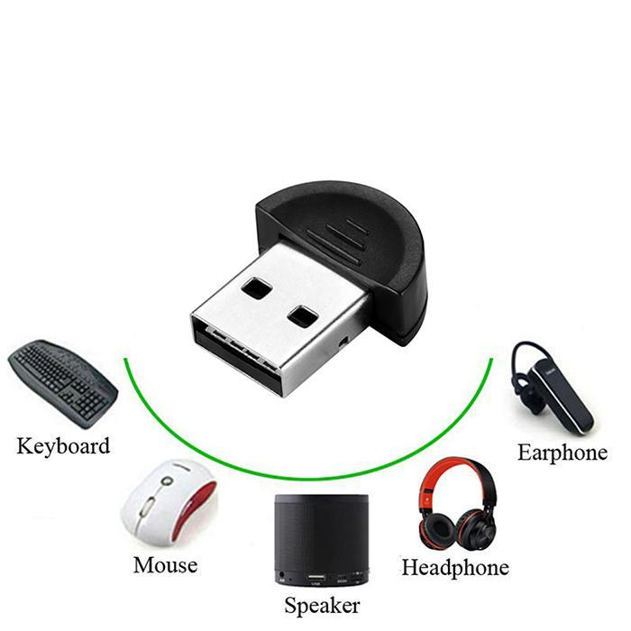 High Speed Bluetooth Adapter USB Dongle for Computer PC Mini Thumb Bluetooth Transmitter 2.0 Receiver Free Drive Support WIN7 usb battery bank charger