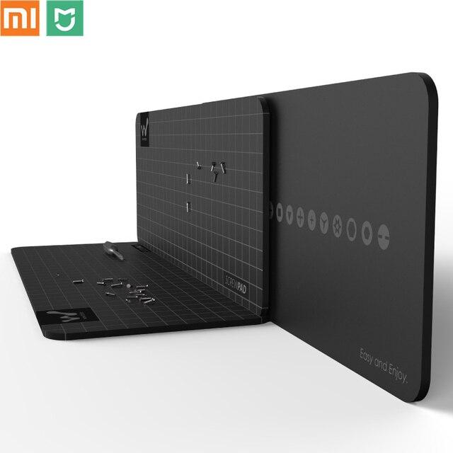 Xiaomi mijia wowstick wowpad Magnetische Screwpad Schroef Positie Geheugen Plaat Mat Voor Schroevendraaier kit 1 P + 1FS Elektrische Schroevendraaier