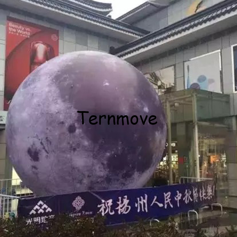LED lighting giant inflatable earth globe ball planet pvc balloon for decoration inflatable planet model with light giant inflatable balloon for decoration and advertisements