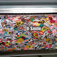 Fashion Style! JDM Sticker Bomb Vinyl Wrap Roll Air Bubble Free For Car Graphics Motorcyle Mcabook
